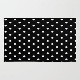 Black & White Polka Dots Rug