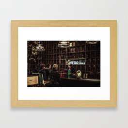 The Tea Shop Framed Art Print