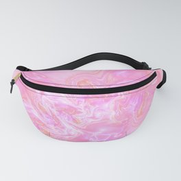 Neon Pink Fantasy Marble Fanny Pack