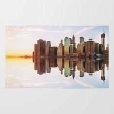 Reflection of Manhattan Rug