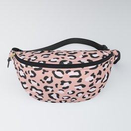 Leopard Print, Leopard Spots, Pink Leopard Fanny Pack