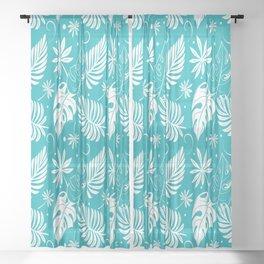 Beautiful Tropical Style Sheer Curtain