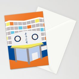 japanese mall Stationery Cards