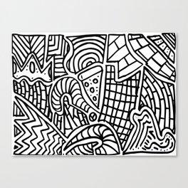 Zonabstrata Canvas Print