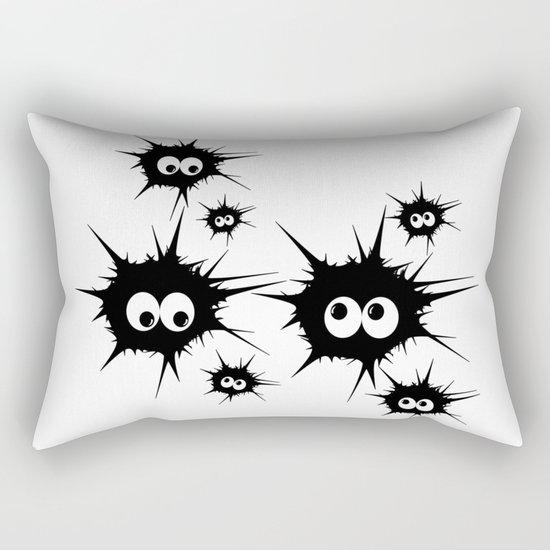 Cute Monsters family Rectangular Pillow