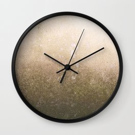 Copper surface Wall Clock