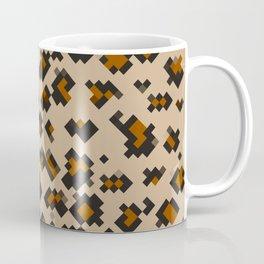 Pixelated Leopard Coffee Mug
