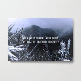 Reconnect Metal Print