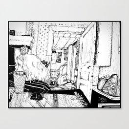 Siri i Lindmon Canvas Print