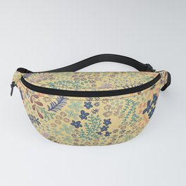 Yellow Scattered Flowers Fanny Pack
