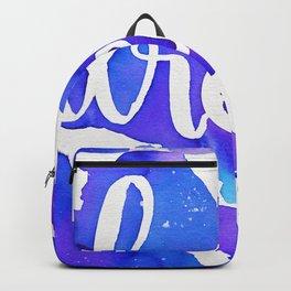 DREAM watercolor - purple Backpack