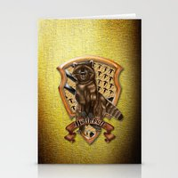 hufflepuff Stationery Cards featuring Hufflepuff harry potter by JanaProject