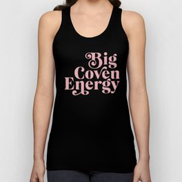 Big Coven Energy Plum Unisex Tank Top