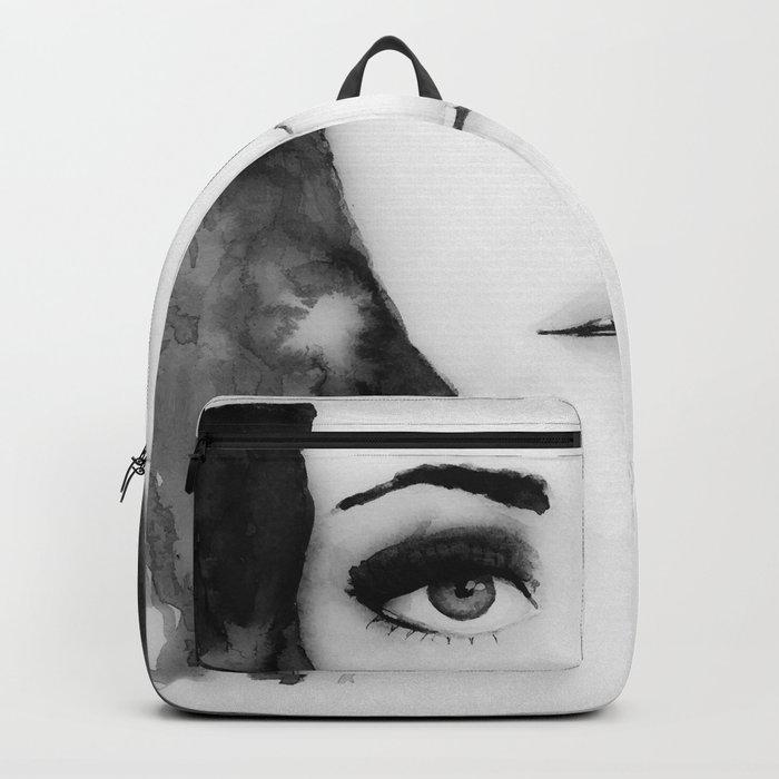 Disappear b&w Backpack