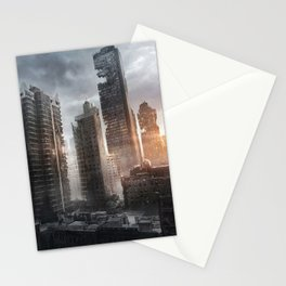 New York Ruins Stationery Cards