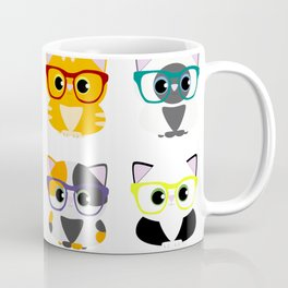 Nerdy Furr Babies Coffee Mug