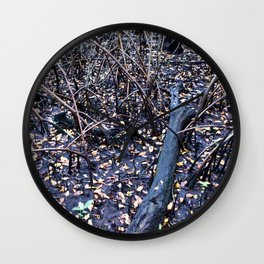 Mangroves Wall Clock