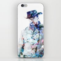 django iPhone & iPod Skins featuring Django by NKlein Design