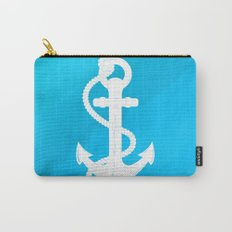 White Anchor Carry-All Pouch
