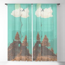 DREAMING Sheer Curtain