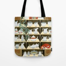 China cabinet Tote Bag