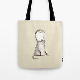 Sitting Otter Tote Bag
