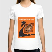 nordic T-shirts featuring Nordic Film Festival by Kimberly Filko