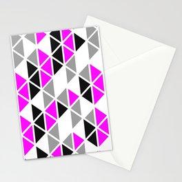 Triangular Vitrail Mosaic Pattern V.06 Stationery Cards
