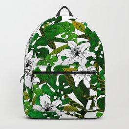 Jungle lilies Backpack