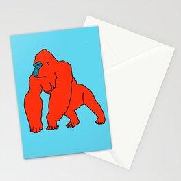 The Orange Gorilla Stationery Cards