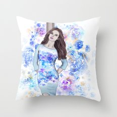 Spring fashion 3 Throw Pillow