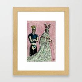 Behave Abnormally Framed Art Print