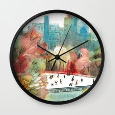 Wollman Rink Central Park Wall Clock