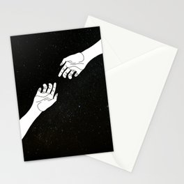 Find me among the stars Stationery Cards