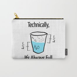 Science is Optimistic Carry-All Pouch