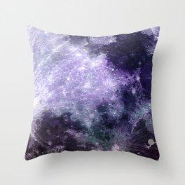MOON under MAGIC SKY VII-1 Throw Pillow