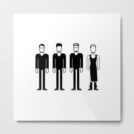 The Cranberries Metal Print
