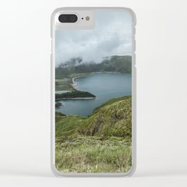 Lagoa do Fogo Clear iPhone Case