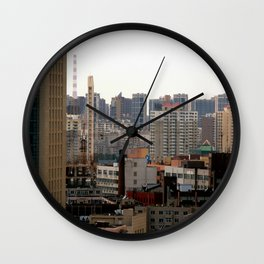 Concrete Jungle #7 Wall Clock