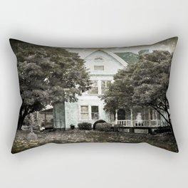 Haunted Hauntings Series - House Number 3 Rectangular Pillow