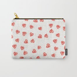 Sparkly hearts Carry-All Pouch