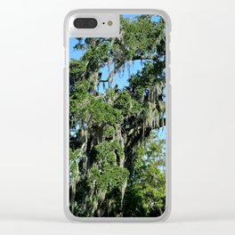 spanish moss Clear iPhone Case