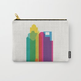 Shapes of Houston. Accurate to scale Carry-All Pouch