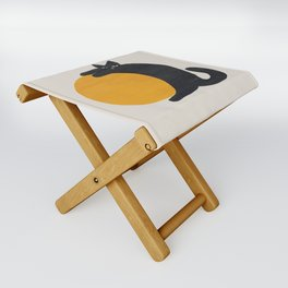 Cat with ball Folding Stool