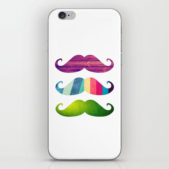 Mustachio special for iPhone iPhone & iPod Skin