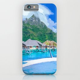 A Memorable Summer Vacation iPhone Case