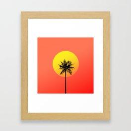 Cali Vice Framed Art Print