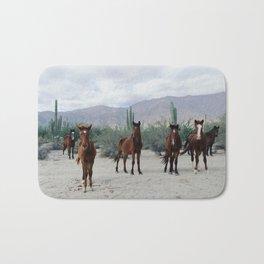 Bahía de los Ángeles Wild Horses Bath Mat