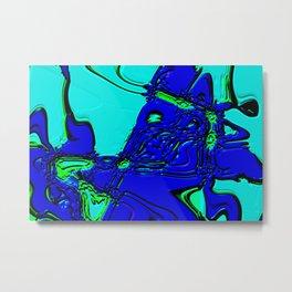 Blue rider Metal Print