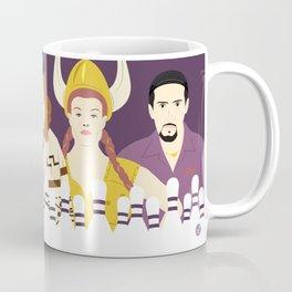 Around The Dude (Faces & Movies) Coffee Mug